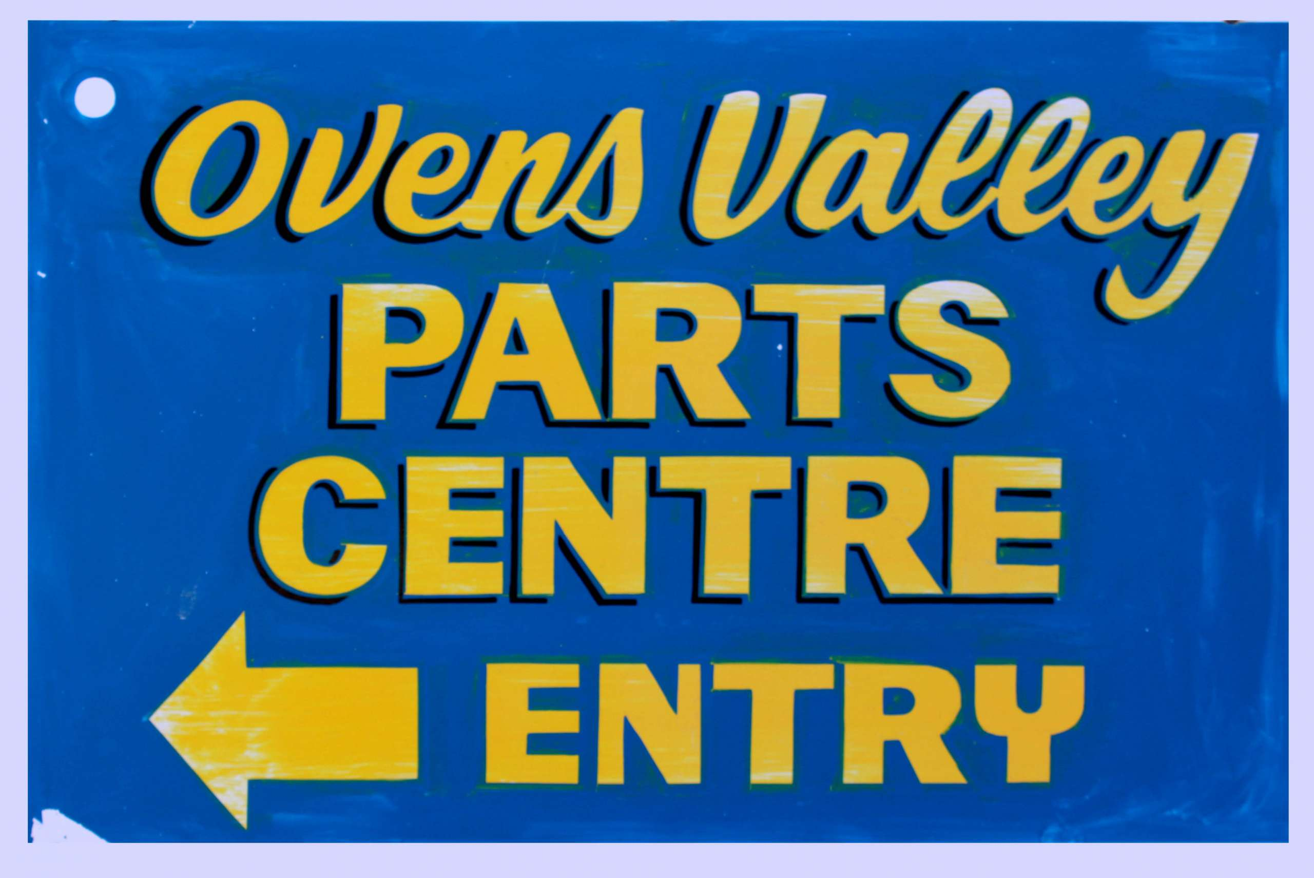 Ovens Valley Parts