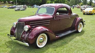 People's choice - Shannons - Ford 3 Window Coupe 1936